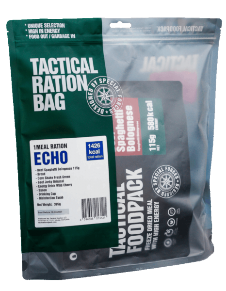 Tactical Foodpack ECHO 1 Meal Ration