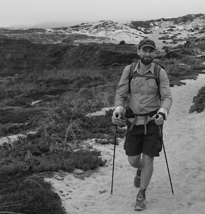 Henrik beim Trekking Ultraleicht