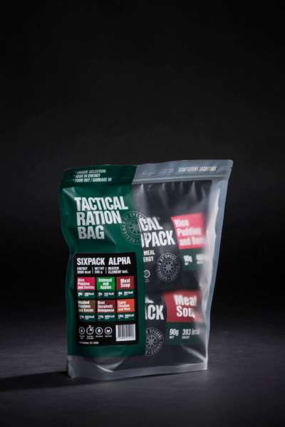 Tactical Foodpack Six Pack Alpha Combo