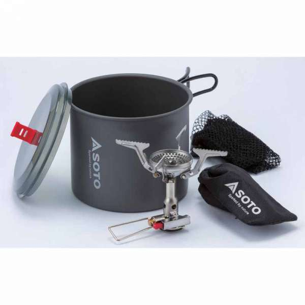 Soto New River Pot 1L + Amicus Stove