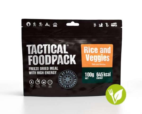 Tactical Foodpack Reispfanne mit Gemüse