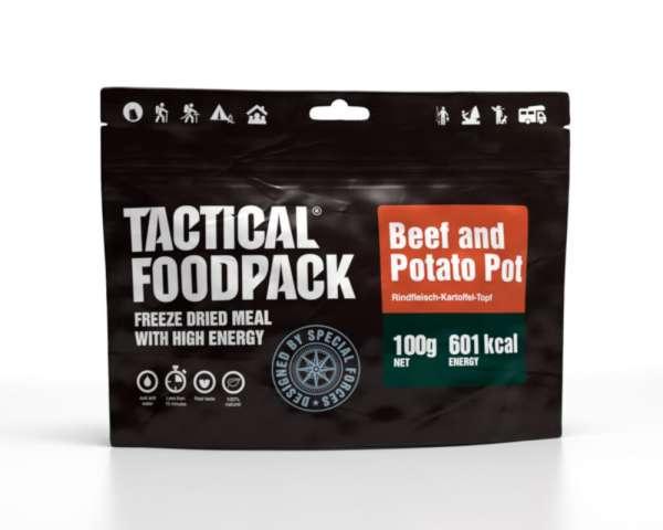 Tactical Foodpack Rindfleisch Kartoffeleintopf
