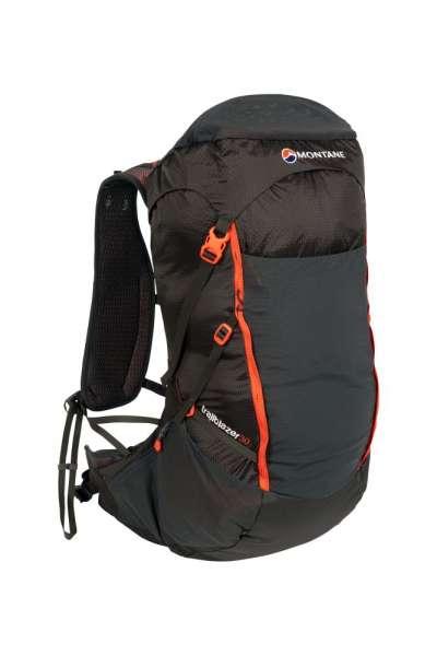 Montane Trailblazer 30 L Ultraleicht Rucksack schwarz