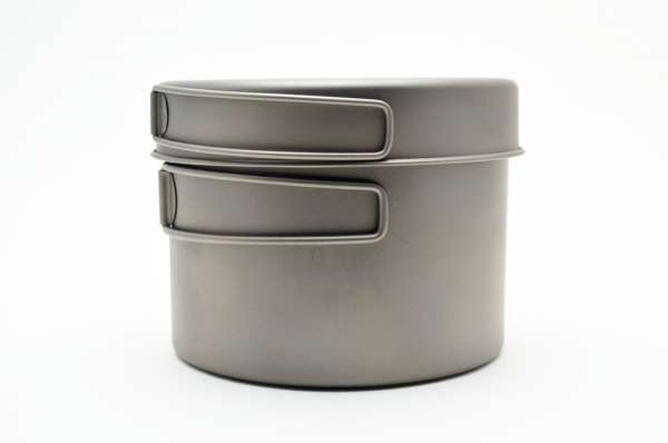 Toaks Titanium 1300 ml Topfset mit Pfanne