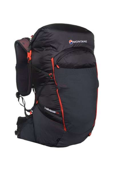 Montane Trailblazer 44 L Ultraleicht Rucksack schwarz