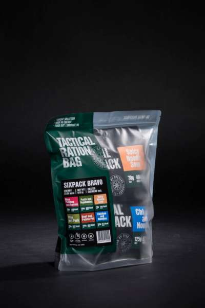 Tactical Foodpack Six Pack Bravo Combo