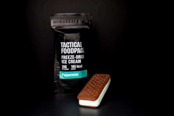 Tactical Foodpack Freeze Dried Ice Cream Peppermint