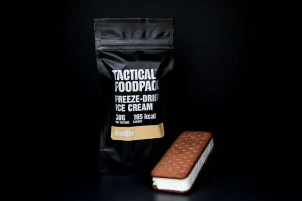 Tactical Foodpack Freeze Dried Ice Cream Vanilla