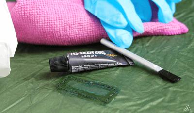 Materialien zum Abdichten von Zeltnähten