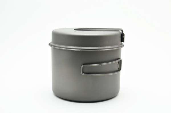 Toaks Titanium 1600 ml Topfset mit Pfanne