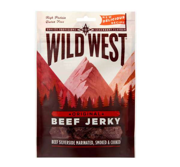 Jerkys Wild West Beef Jerky Original