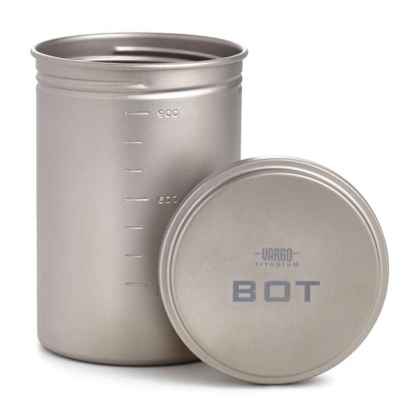 Vargo Titanium BOT Bottle Pot 1 L