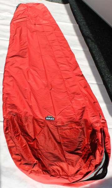 Crux B1 Recce Bivi-Bag rot