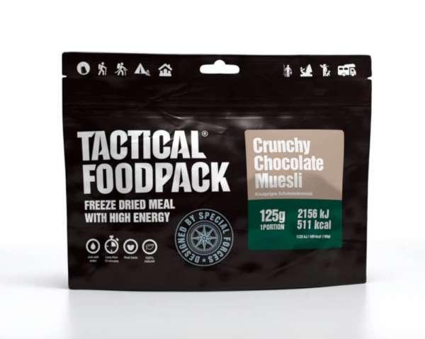 Tactical Foodpack Crunchy Chocolate Müsli