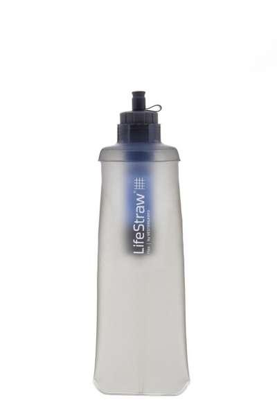 LifeStraw Flex Wasserfilter Flasche grau