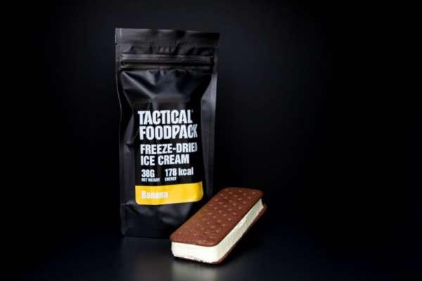 Tactical Foodpack Freeze Dried Ice Cream Banana