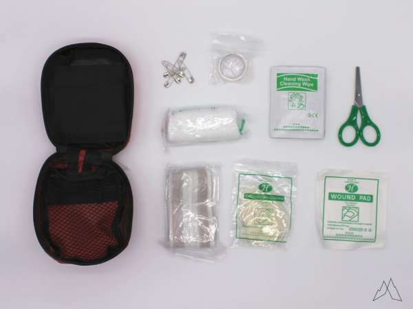 Mil-Tec First Aid Kit Mini Red