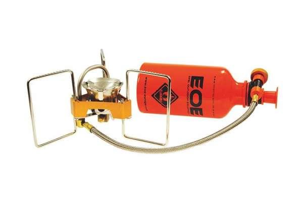 EOE Thorium ultraleicht Benzinkocher mit Brennstoffflasche