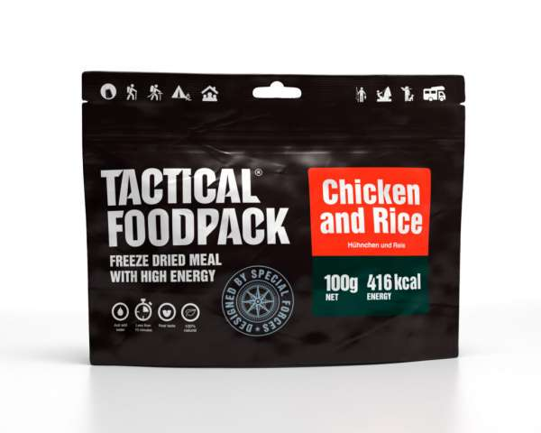 Tactical Foodpack Hühnchen und Reis
