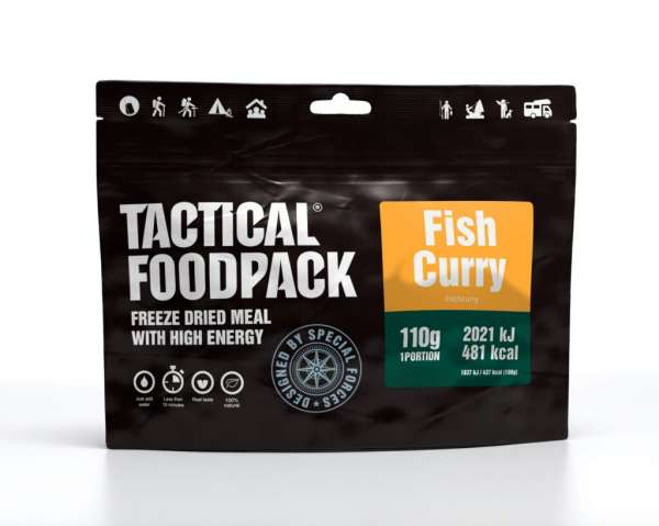 Tactical Foodpack Fisch Curry