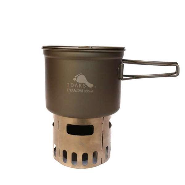 Toaks Ultralight Titanium Cook System CS04 mit 900 ml Topf