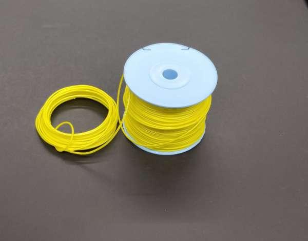 Dyneema Wurfleine 1.8 mm ungemantelt gelb