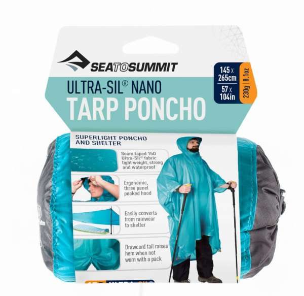 Sea To Summit Ultra-Sil Nano 15D Tarp Poncho