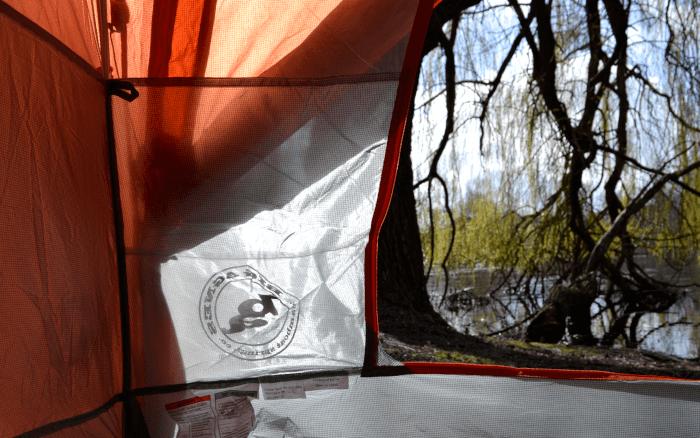 Inneres des Zelts