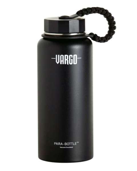 Vargo Isolierflasche Para Iso Edelstahl 0,95 L schwarz