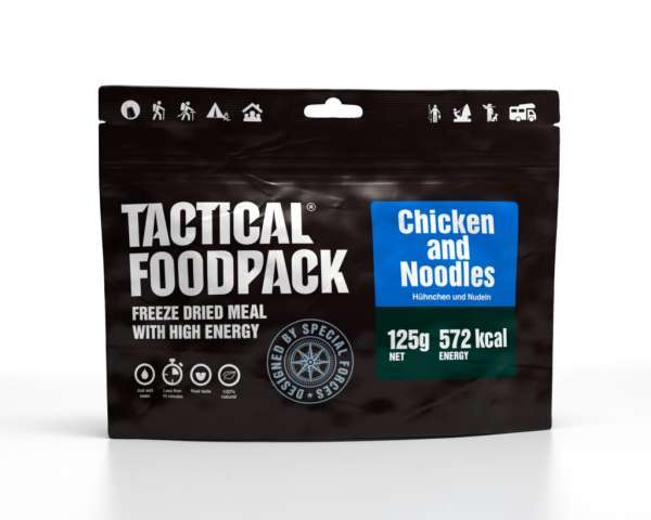Tactical Foodpack Hühnchen und Nudeln