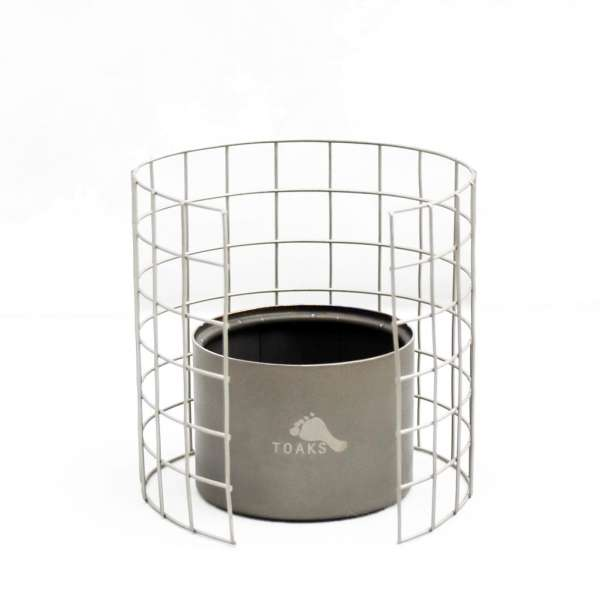 Toaks Ultralight Titanium Stove mit Topfstand