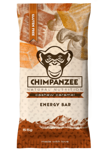 Chimpanzee Energy Bar Cachew Caramel