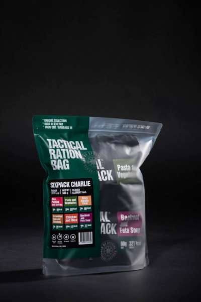 Tactical Foodpack Six Pack Charlie Combo