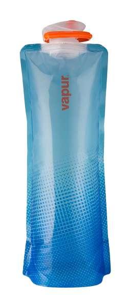 Vapur 1,5 L Shades XXL Faltflasche translucent blue