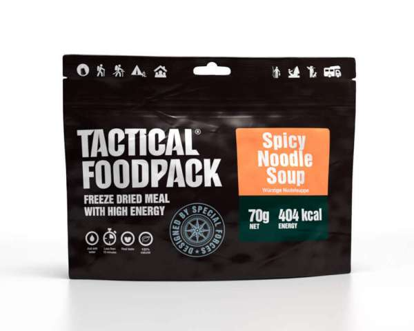 Tactical Foodpack Spicy Nudelsuppe