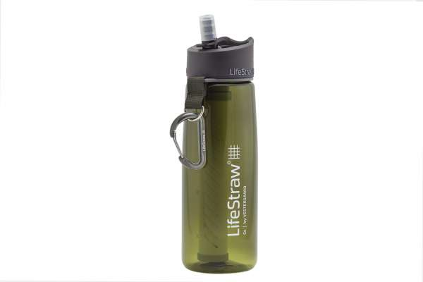 LifeStraw Go 2-Stage Wasserfilter Flasche - grün