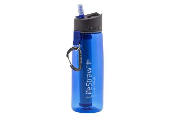 LifeStraw Go 2-Stage Wasserfilter Flasche - blau