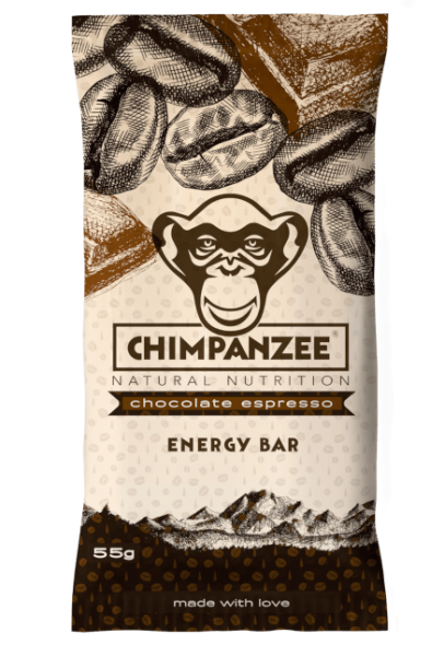 Chimpanzee Energy Bar Chocolate Espresso