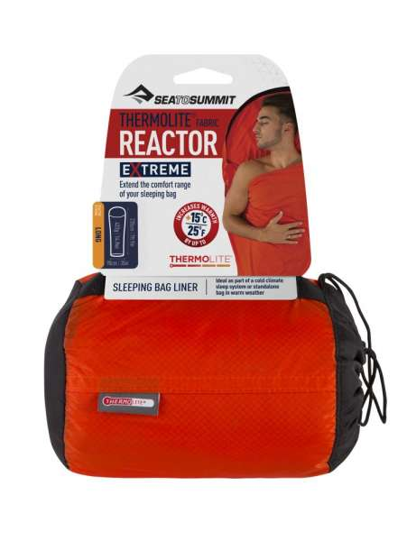 Sea To Summit Reactor Extreme Thermolite Mummy Liner