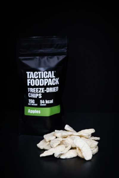 Tactical Foodpack Freeze Dried Chips Apple