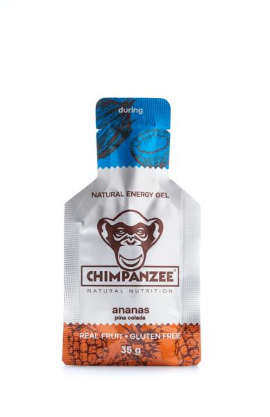 Chimpanzee Energy Gel Ananas Piña Colada