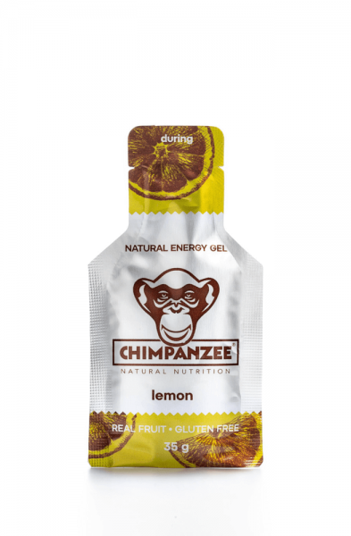 Chimpanzee Energy Gel Lemon BIO