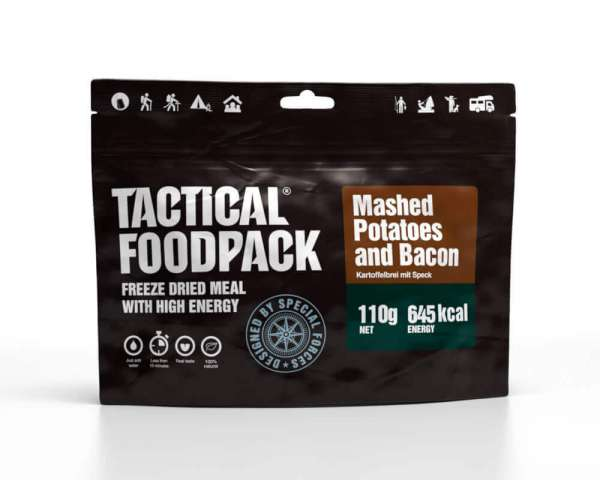 Tactical Foodpack Mashed Potatoes und Bacon