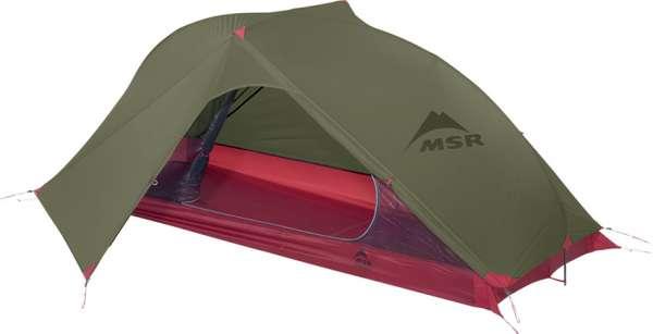 MSR Carbon Reflex 1 green Zelt