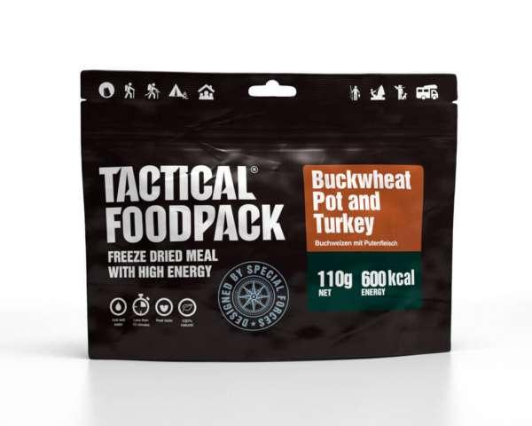 Tactical Foodpack Buchweizen und Puteneintopf